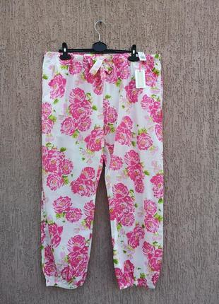Новые хлопковые штаны для дома и сна love to lounge