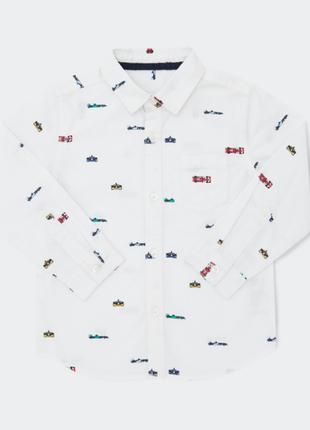 Классные рубашки  от dunnes stores на 2-3,3-4 года из англии