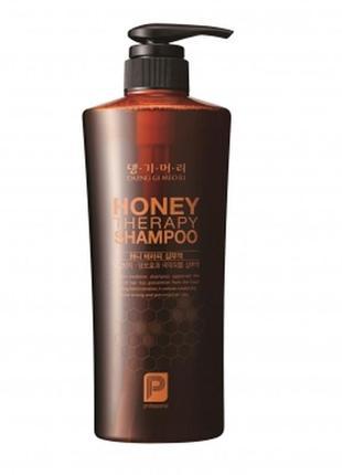Шампунь медовий daeng gi meo ri honey therapy shampoo 500мл