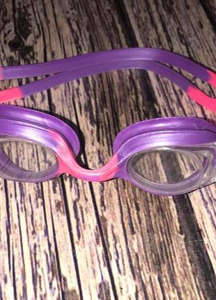 Очки для плавания zoggs для девочки 2-12 лет