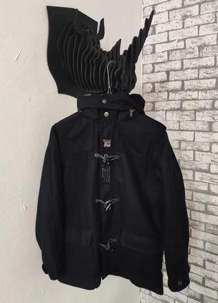 Шикарное пальто дафл на костяшках timberland duffle wool coat