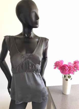 Шелковая блуза gap 16(44)