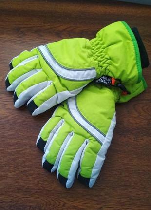 Яркие дутые горнолыжные лыжные перчатки краги thinsulate