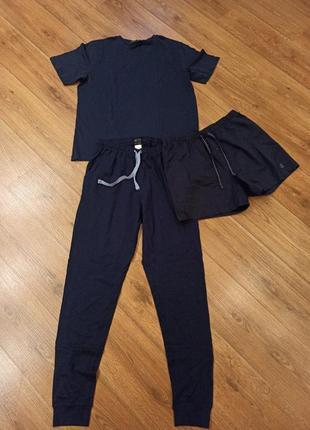 Домашний костюм тройка мужская пижама германия l 52-54