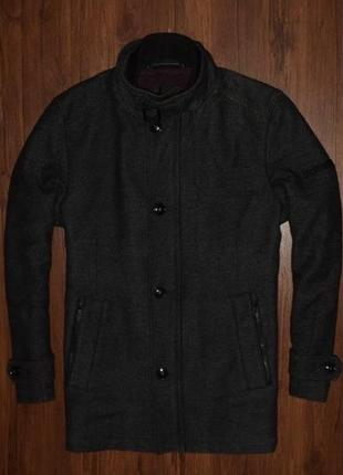 Strellson wool coat мужское шерстяное пальто