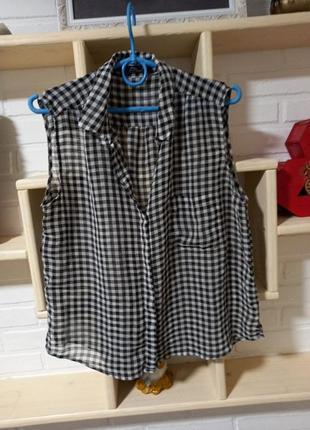 Летняя рубашка mango