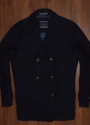 Tommy hilfiger coat мужское зимнее шерстяное пальто