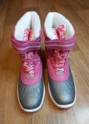 Зимние сапоги для девочки, термо ботинки pepperts. розмір 37.