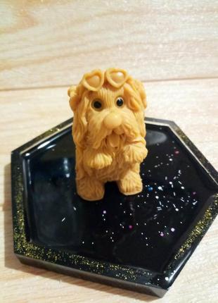 Мыло ручной работы собачка