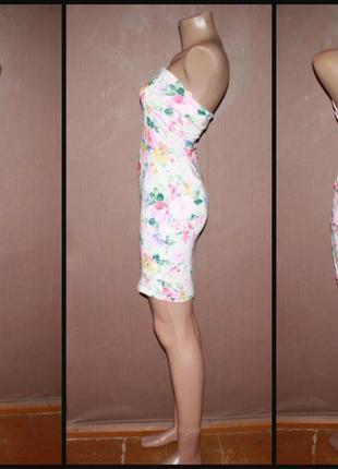 Актуальное трикотажное платье №3792