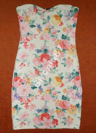 Актуальное трикотажное платье №3791