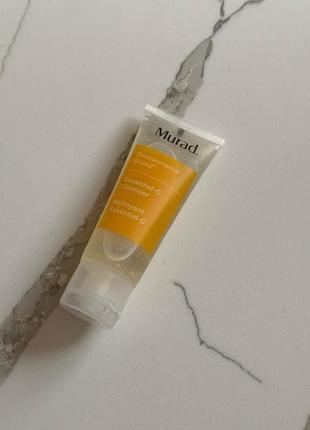 Гель для умывания с витамином с murad essential-c cleanser 45 мл