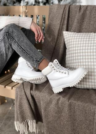 Шикарные женские зимние ботинки топ качество timberland ❄️✨