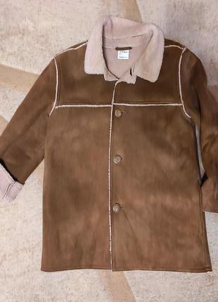 Куртка, дубленка демисезонная ladybird на мальчика, 7-8 лет