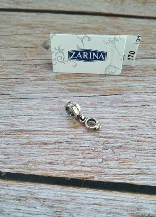 Шарм, бусина с подвеской для браслета в стиле пандора серебро 925 помолвочное кольцо