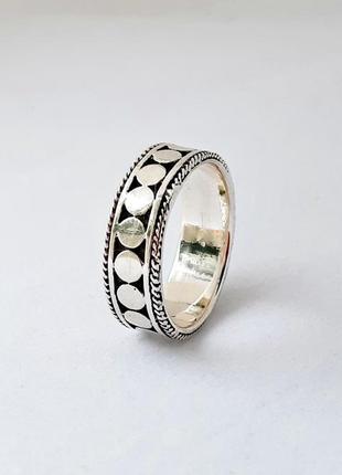 Женское милое нежное кольцо из серебра 925 пробы 18.5 размер
