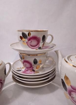 Чайный сервиз роза