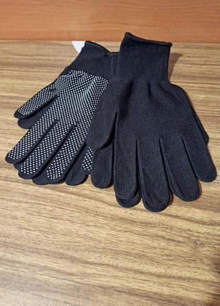 Перчатки, для технических работ, тонкие.
