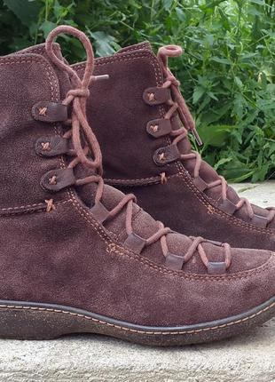 Кожаные ботинки сапоги timberland 38 р. оригинал