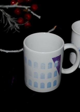 Кружка чашка из италии достопримечательность колизей белая 300 мл