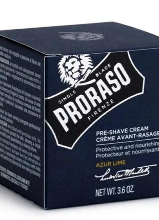 Крем для бритья proraso pre-shave cream