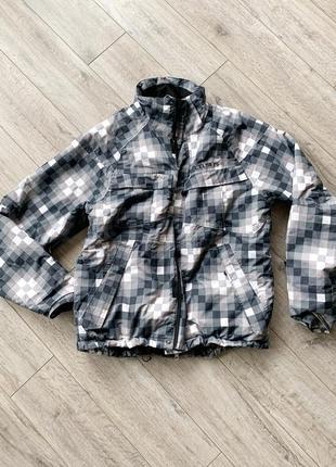 Бордовская куртка, горнолыжная курточка,