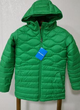 Яскрава демі куртка columbia , для дівчаток , розмір л підлітковий, зріст 158- 164 см.
