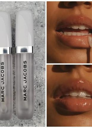 Sale🔥кокосовое масло для губ marc jacobs beauty re(cover) hydrating coconut lip oil