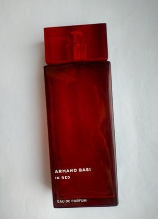 Женская парфюмерная вода armand basi in red 100ml тестер оригинал