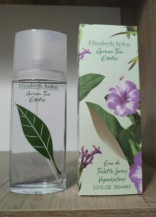 Elizabeth arden green tea exotic туалетная вода 100 мл