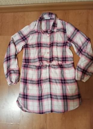 Рубашка-туника на девочку 11 лет.