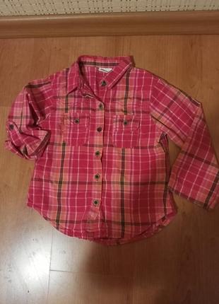 Рубашка на девочку 4 года.