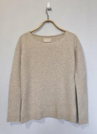 Бежевый свитер zadig&voltaire,100 % шерсть