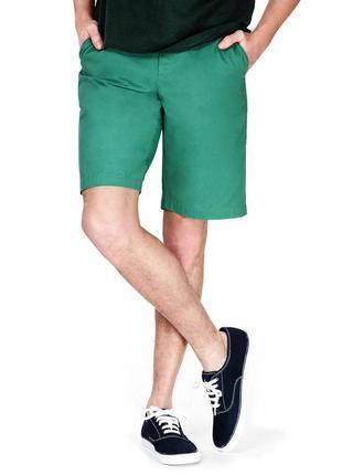 Стильные шорты чинос, коттон, большого размера 40eu