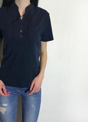 Женская футболка (поло) elizabeth scott ( элизабет скот с-мрр идеал оригинал синее)