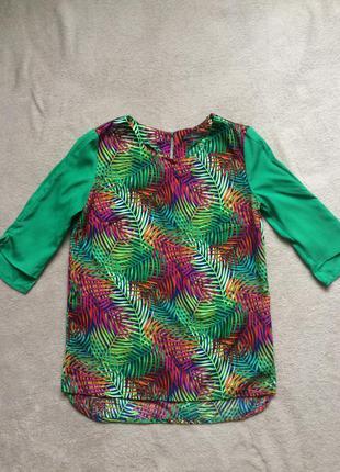 Яркая блуза kira plastinina
