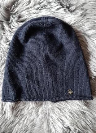 Женская легкая шапка бини tommy hilfiger оригинал
