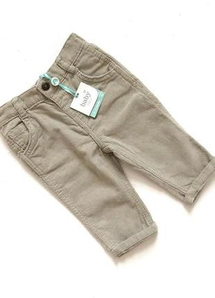 Новые с биркой вельветовые штанишки