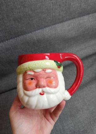 Чашка санты дед мороз новая новый год для подарка