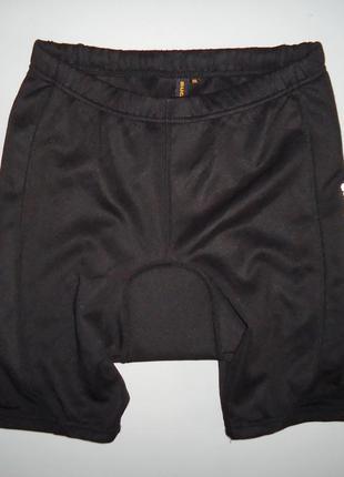 Велошорты muddyfox черные размер (m)