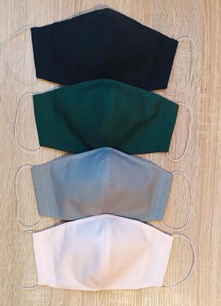 Защитная многоразовая маска для лица