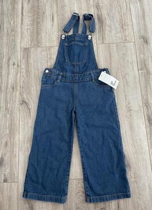 Комбінезон  джинсовий, джинси кюлоти