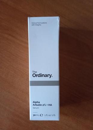 Сыворотка ordinary alpha arbutin + ha