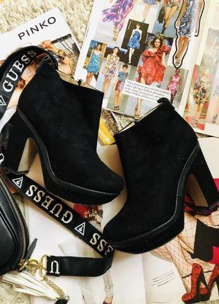 Стильние ботинки сапожки