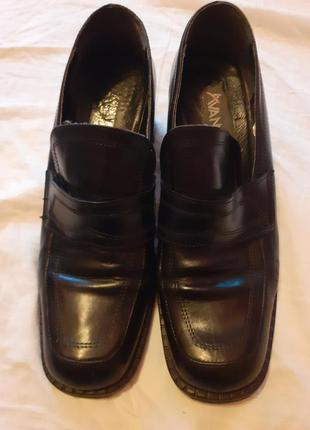Туфли кожаные avance
