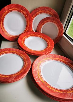 Набор посуды bormioli rocco испания, 17 предметов