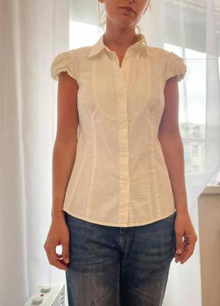Белая рубашка kira plastinina