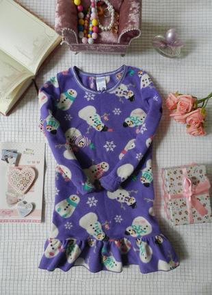 Теплое флисовое платье children`s place