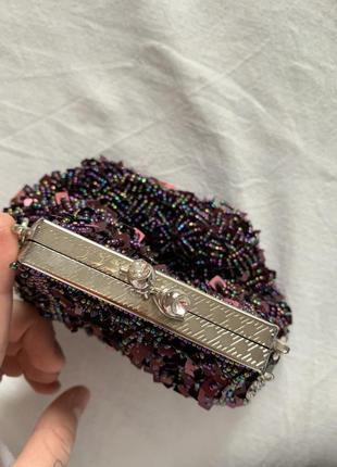 Винтажная бисерная сумочка leko london