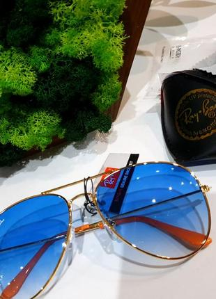 """Распродажа! очки солнцезащитные ray ben! актуальная """"капля"""""""